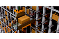 存儲和檢索系統、紙箱吊貨裝置