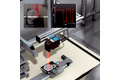 Quality control using a laser line