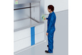 Employee detection in vertical storage systems
