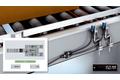 适用于锯木厂应用的集成式速度与长度测量