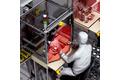 人體工程學設計的工作站防護