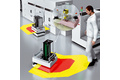 Safety solutions allowing automated guided carts to travel at high speeds