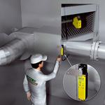 加热、空调和通风装置维护入口处的安全锁定装置
