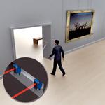 内室防盗监控,包括方向识别