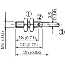 Im05 0b8ps Zw1 Inductive Proximity Sensors Sick
