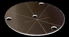 Adjusting plate