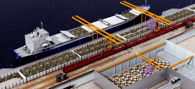 散装货物港口
