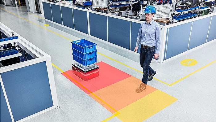 Automated guided vehicles and carts on the move safely, autonomously and cost-efficiently