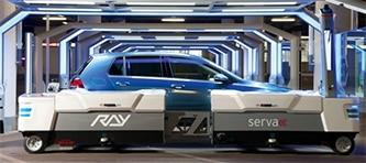 SICKinsight parking robot image