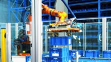 Faster in depalletizing: Robots see more with 3D snapshot technology