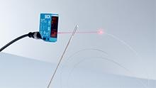Light off, spot on: laser sensors for any application