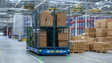 Innovative intralogistics: AutoBox with SICK navigation and safety sensors in pilot test at BMW