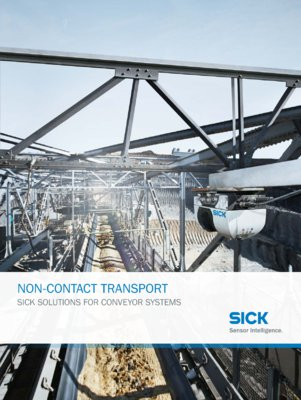 Non-Contact Transport: SICK Solutions for Conveyor Systems