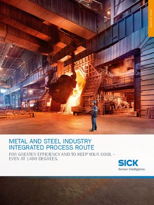 Metal and steel industry, Integrated process route