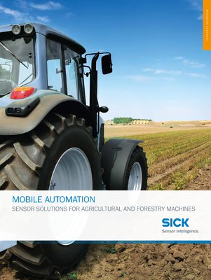 Mobile Automation - Sensor solutions for agricultural and forestry machines